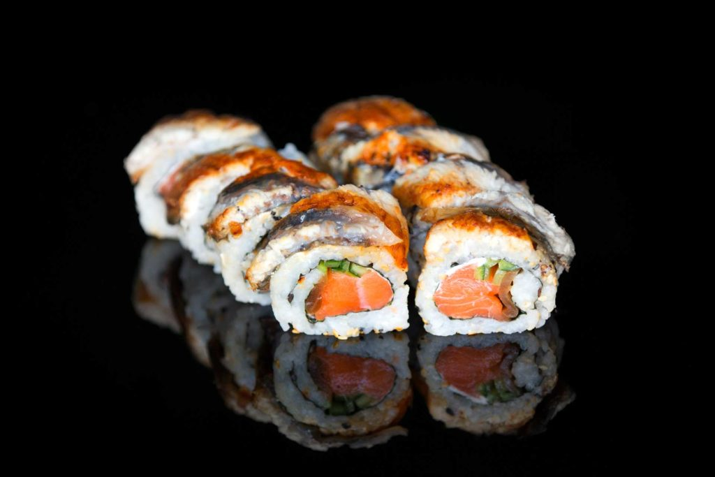 sushi na dowóz w Warszawie