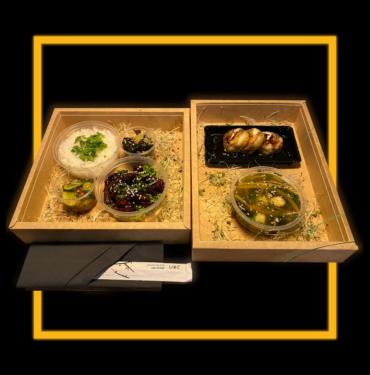 bento box wołowina do menu